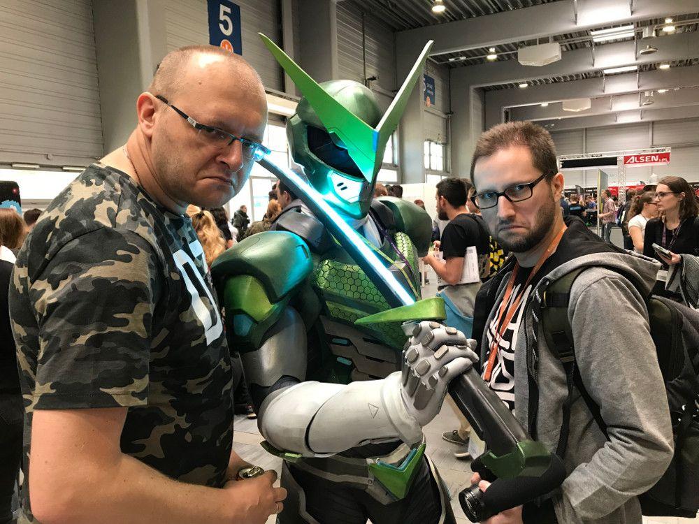 NRGeek, W Cosplay i Quaz - Pyrkon 2018